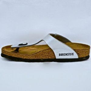 BIRKENSTOCK~gizeh~THONG SANDAL~Silver~8-8.5